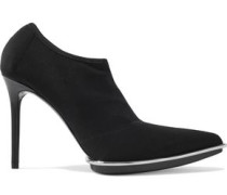 Cara Stretch-mesh Ankle Boots Black