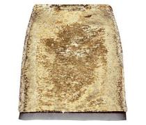 Finn sequined chiffon mini skirt