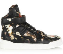 Tyson sneakers in moth-print leather