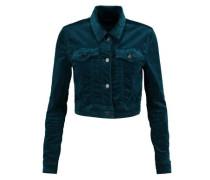 Faye cotton-blend velvet jacket