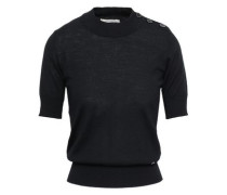 Wool And Cashmere-blend Sweater Black
