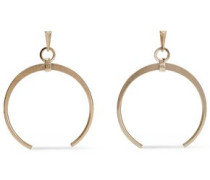 Burnished Gold-tone Earrings Gold Size --