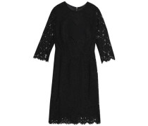 Embroidered corded lace dress