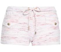Tamara Printed Piqué Swim Shorts Pastel Pink