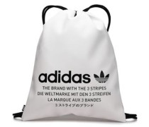 Printed Pvc Backpack White Size --