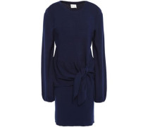 Knotted Dress Navy