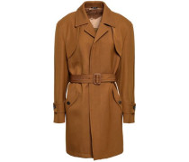 Wool And Cotton-blend Gabardine Trench Coat Light Brown
