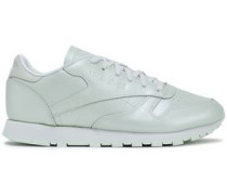 Leather Sneakers Mint