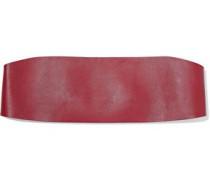 Leather headband