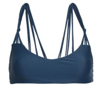Madrid Knotted Bikini Top Storm Blue