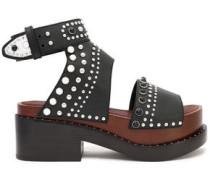 Nashville studded leather platform sandals