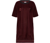Embossed velvet nightshirt