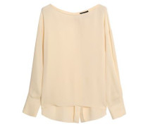 Jarthstin silk-georgette top