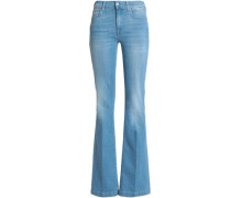 Charlize mid-rise flared jeans