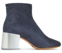 Nubuck Ankle Boots Indigo