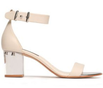 Tina Leather Sandals Ivory