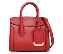 Heroine Leather Shoulder Bag Crimson Size --