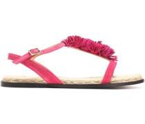Margarita fringed suede sandals