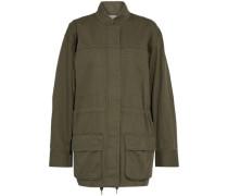 Cotton-gabardine jacket