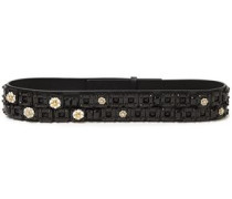 Woman Skinny Belts Black