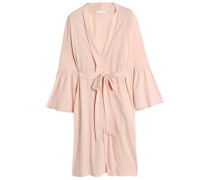 Cotton-jersey robe