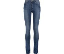 Flex mid-rise skinny jeans