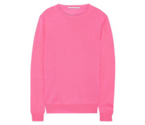Woman Wool Sweater Bright Pink