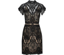 Java Guipure Lace Dress Black