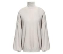 Cashmere Turtleneck Sweater Light Gray