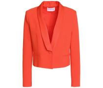 Valerianne cropped crepe blazer