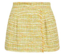 Tweed Shorts Light Green