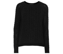 Cable-knit Sweater Black