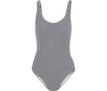 The Anne-Marie striped seersucker swimsuit