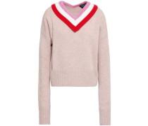 Mélange Wool Sweater Neutral