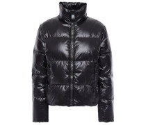 Woman Quilted Shell Down Jacket Black