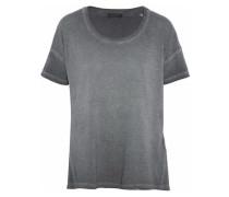 Slub Cotton-jersey T-shirt Anthracite