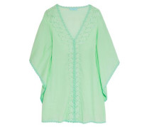 Jessica embroidered voile kaftan
