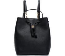 Georgia embellished textured-leather backpack