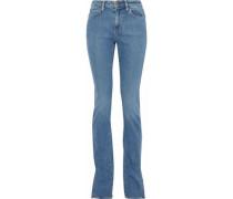 Lowry Mid-rise Slim-leg Jeans Mid Denim