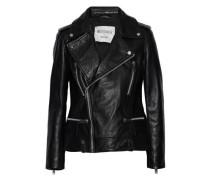 Liza leather biker jacket