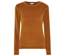 Casmida Ribbed Chenille Sweater Camel