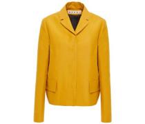 Cotton-twill Jacket Mustard