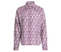 Printed Cotton Shirt Lavender