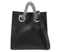 Genesis Leather Tote Black Size --