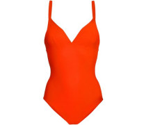 Stretch Swimsuit Bright Orange
