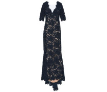 Corded Lace Gown Navy Size 12