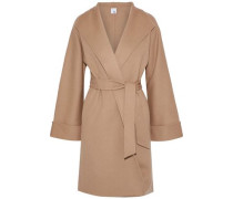 Maggie Wool And Cashmere-blend Coat Sand