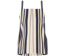Kymi striped slub silk camisole