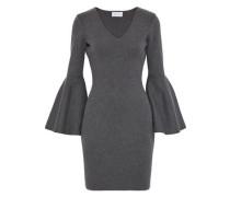 Stretch-knit mini dress