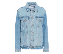 Faded Denim Jacket Light Denim